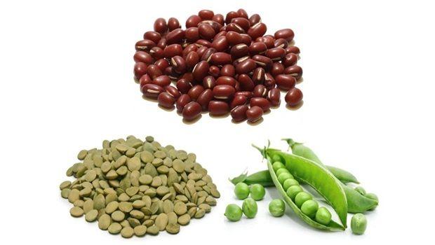 Bohnen, Erbsen und Linsen