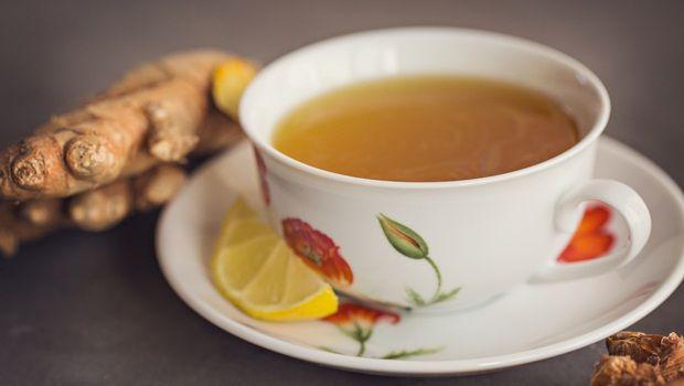 Kurkuma Tee Rezepte - Kurkuma Zitronentee