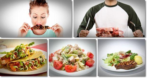 sehr kalorienarm Rezepte vegetarische gesunde Gewichtsabnahme mit Paläo-Diät