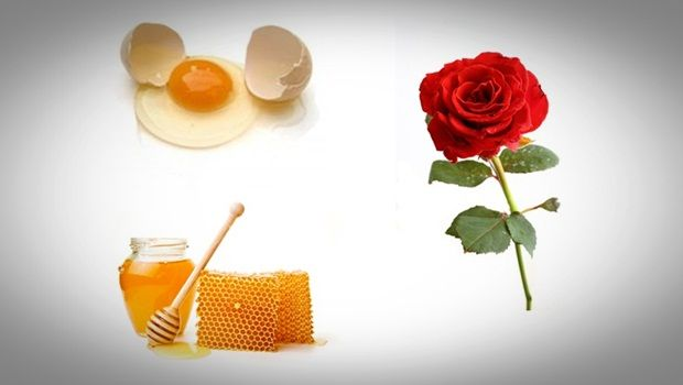 Rose Gesichtsmaske - Rose, Honig und Ei Haut Anti-Aging-Gesichtsmaske