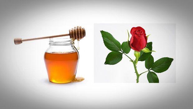 Gesichtsmaske Rose - Honig Gesichtsmaske Rose