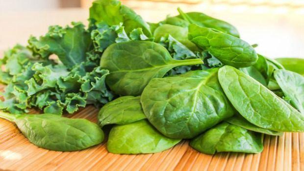 dunkelgrünes Gemüse
