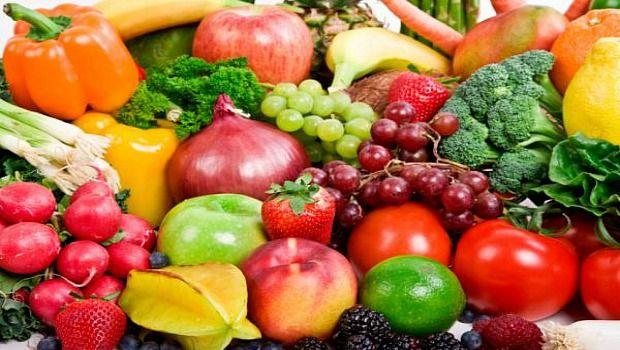 rote Früchte & amp; Gemüse