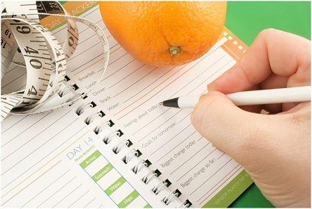 halten ein Ernährungstagebuch Bewertung