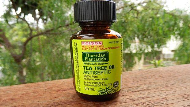 wie Zahnweh-Teebaumöl zu stoppen