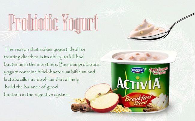 Joghurt für Durchfall - probiotischer Joghurt