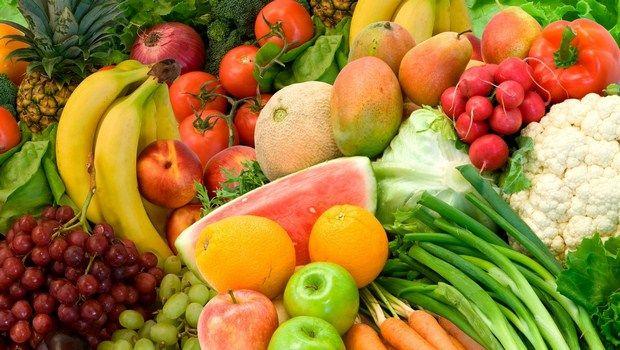 wie Psoriasis-bunte Obst und Gemüse zu behandeln