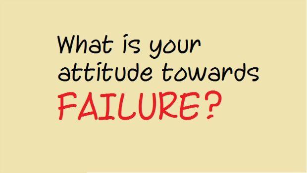 Sehen Sie Ihre Haltung & amp; Reaktionen zum Scheitern