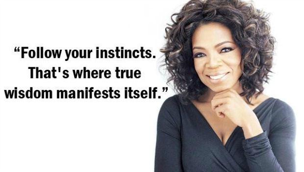 folge deinen Instinkten