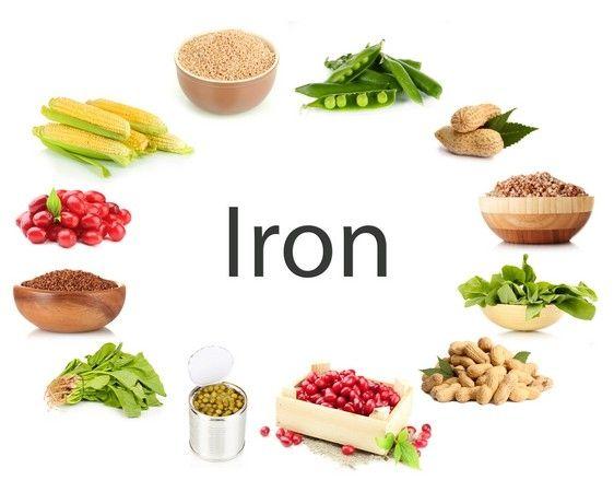 Eisen-reiche lebensmittel (reiche quelle von eisen)