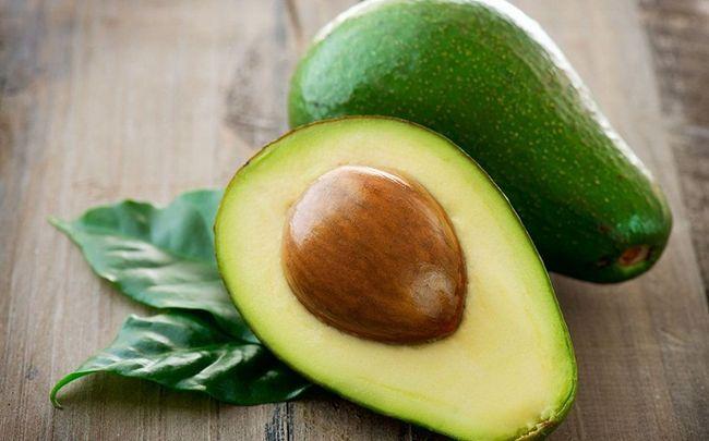 Zitrone für Dehnungsstreifen - Zitrone mit Avocado