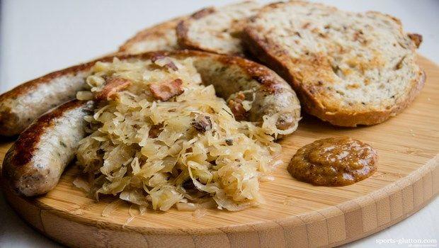 Lebensmittel, die Bluthochdruck-Sauerkraut verursachen