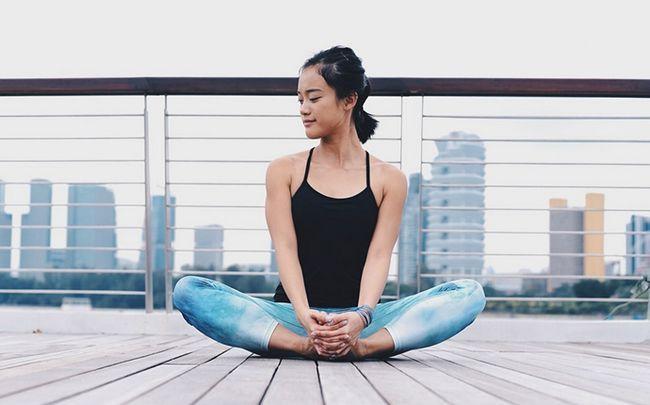 Yoga-Posen für besseren Sex - gebundenen Winkel