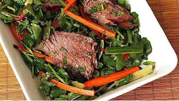Haben Salate und mageres Eiweiß Bewertung