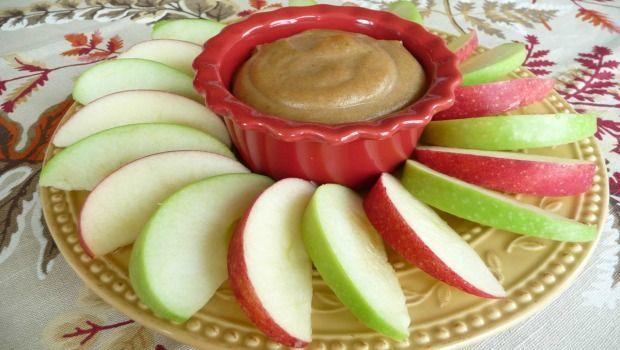 Äpfel mit Dip-Download