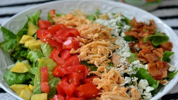 Buffalo Chicken Salat Wrap-Download