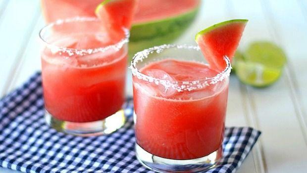 Wassermelone-Cranberry-agua fresca herunterladen