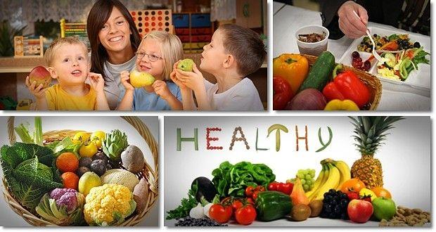 Förderung einer gesunden Ernährung in der Vorschule