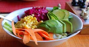 Die vor- und nachteile des essens gemüsesalate regelmäßig
