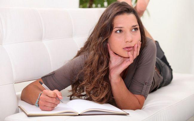 Tipps für ein glückliches Leben - schreiben Sie Ihre Aufgaben und Pläne