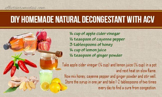 Top 6 diy hausgemachte natürliche abschwellende rezepte