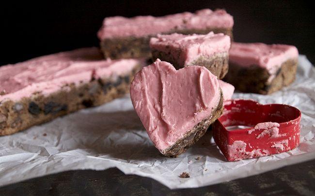 dunkle Schokolade Rezepte - dunkle Schokolade & amp; Kirsche Brownies