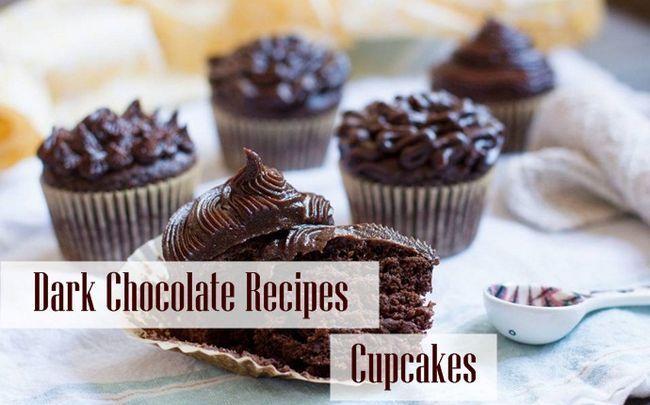 dunkle Schokolade Rezepte - dunkle Schokolade Rezepte - kleine Kuchen
