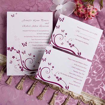 Hochzeit Ideen auf einem Budget mit Hochzeitseinladungen