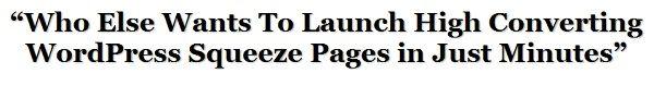 Wordpress Squeeze-Seite Thema herunterladen Wordpress Squeeze-Seite-Plugin