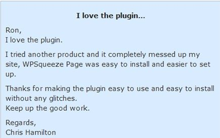 Wordpress Squeeze-Seite Thema pdf Wordpress Squeeze-Seite-Plugin