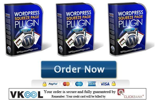 Wordpress Squeeze-Seite Thema Free Wordpress Squeeze-Seite-Plugin