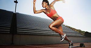 Workouts zu erhöhen geschwindigkeit, schnelligkeit und ausdauer